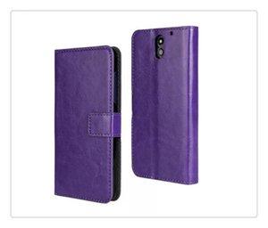 CALIENTE para el iphone 5S / 6Plus verdadera cartera de cuero genuino de la cubierta del caso del soporte de la tarjeta de crédito para Samsung Galaxy S6 / S7