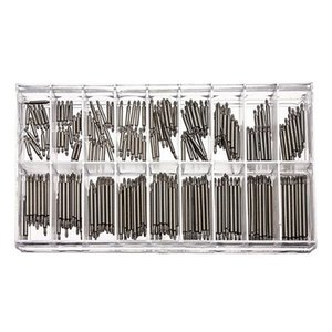 Wholesale-360pcs 8-25mm Watch Band Spring Bars Strap Link Pins Repair Watchmaker Link Pins Remove Toolsworldwise Top Quality