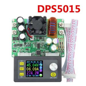 Freeshipping DPS5015 Programlanabilir kontrol kaynağı Güç 0V-50V 0-15A Dönüştürücü Sabit Akım gerilim ölçer Adım-aşağı Ampermetre Voltmetre