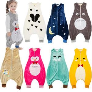 Yeni Bahar Sonbahar Bebek Uyku Tulumu Çocuk Pijama Uyku Kıyafetleri Nightclothes Çocuk Tulum Bebekler Yatak Sarar Çantaları