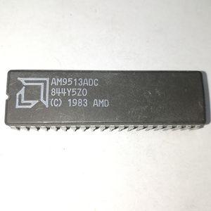 AM9513ADC. AM9513ADCB. AM9513 / 5 TIMER (S), PROGRAMMABLE TIMER 집적 회로 IC, CDIP40 / 듀얼 인라인 40 핀 세라믹 패키지 칩