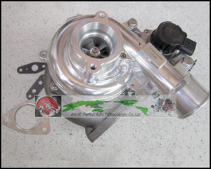 Turbo + Magnetventil Elektroantrieb CT16V 17201-OL040 17201-30110 17201-30100 Für TOYOTA HILUX SW4 Landcruiser 1KD-FTV 3.0L