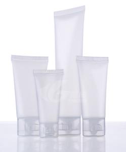 15g 30g 50g 100g tuyau d'emballage cosmétiques tube nettoyant pour le visage bouteille de crème squeeze main en plastique de lavage de cosmétiques