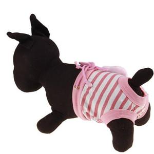 애완 동물 생리학 바지 여성 애완 동물 강아지 강아지 위생 귀여운 귀여운 팬티 기저귀 안전 바지 속옷 DHL 무료 PD025