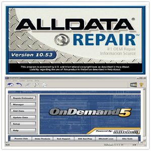 nuovo software Alldata e mitch * l Alldata 10.53 (576gb) + Mit 5 122gb HDD 750GB
