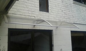 DS100200-A, 100x200CM.White Grey Black Aluminum Bracket Disponible Door Door Door, toldo de la puerta del toldo