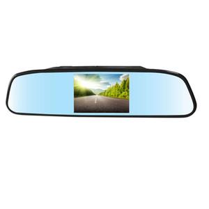 4.3 인치 자동차 모니터 2 웨이 비디오 입력 자동차 후면보기 TFT LCD가 자유 게시물을 반전 할 때 자동으로 표시