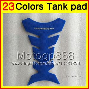 23Colors Protector de almohadilla del tanque de gas de fibra de carbono 3D para YAMAHA TZR-250 3MA TZR250 88 89 90 91 TZR 250 1988 1989 1990 1991 3D Etiqueta engomada de la tapa del tanque