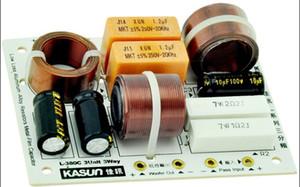Freeshipping 2 pz \ Lotto L-380C 3 Way 3Unit HiFi Diffusore di Frequenza Divisore Filtri Crossover per KASUN spedizione gratuita