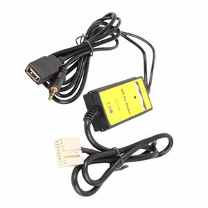 Auto Audio Digital Music Aux Kabel MP3 USB Interface Adapter Für Honda 2.4 weiß verbinden Camry Corolla