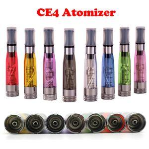 CE4 1,6 ml Atomizador ego CE4 Clearomizer Colorido Para EGO-T Atomizador E- Cigarro Adaptador Ego-t Ego-w Ego-c torção Todos os 510 Clearomizer vazio