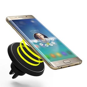 360 Caricatore magnetico rotante Supporto per caricatore Qi Caricabatterie wireless per Galaxy S8 plus S6, G9200 / S6 Edge / NOTE5 / S7 / S7 EDGE