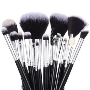 Profesyonel Makyaj Fırçalar Seti 15pcs Yüksek Kalite Makyaj Araçları Kiti Siyah Kozmetik Seti Yukarı Fırça Güzellik Ürünleri 15 adet Kaliteli olun