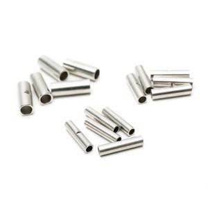 300 PCS Suyep Silver Metal Uninsulated Terminais de Fios Terminais de Crimpagem do Cabo Virar Conector BN1.25 BN2 BN5.5 sortimento kit