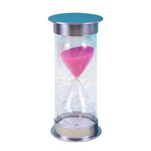 20 minuti clessidra clessidra timer acrilico casa cucina regali viola / rosa / blu