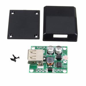 Freeshipping عالية تحويل كفاءة usb مفرق مربع لوحة للطاقة الشمسية مايكرو usb الجهد المراقب محول منظم لشاحن 5 فولت -18 فولت إلى 2
