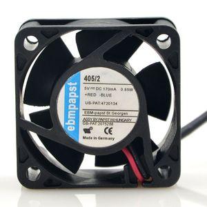 Ebmpapst allemand 405/2 5V 0.17A 0.85W 4CM ventilateur ventilateur équipement dans