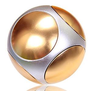 Spinner Ball Sphere تململ اليد سبينر التمويه EDC لعب الذهب