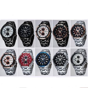 CURREN 8023 часы Марка корейский мужчины Kuran черный повседневная часы полоса кварцевые часы