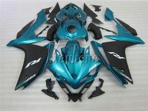 Kit carena completo in ABS stampato ad iniezione per Yamaha YZF R1 07 08 carene moto verde nero set YZFR1 2007 2008 YI22