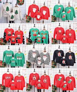 유로 패션 스타일 크리스마스 코트 어머니의 아빠 아들 딸 크리스마스 파티 코트 무료 배송 크리스마스 가정의 스타일