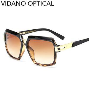 Vidano Optical Ankunftsverspätung European Fashion Big Pilot Sonnenbrillen für einen Mann eine Frau Sonnenbrillen Luxus Designer Brillen UV400