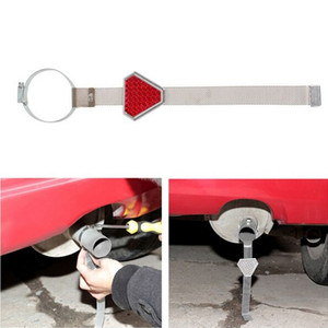 10 قطعة السيارات التصميم الكهربائي الاستاتيكيه حزام معدني كهرباء حزام السيارة تحذير المادة كهرباء السيارات لوازم
