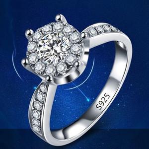 2017 yüksek kalite pop mücevher, platin kaplama, S925 gümüş kakma yüzük, aşk yüzük takı toptan
