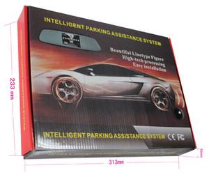 Senza fili dell'automobile sensori di parcheggio PZ604W 4.3 Inch Digital TFT LCD 4 Passi Bibi suono