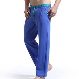 # 1017 남자 패션 의류 drawstrings cotton joggers sweatpants loungewear causal pants Pantalon sleep bottom