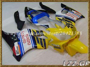 Injection fairing sets for Honda CBR600 F4i 2001-2003 2002 CBR600F4i 2001 2002 2003 CBR600F4i 01 02 03 fairings #h29w8 Yellow blue