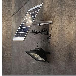 LED Solar Flood Wall Lights 25LEDs Aluminio Fundición a presión Power Garden Path Lamps Exterior Impermeable Escalera Yard Park Lighting al por mayor