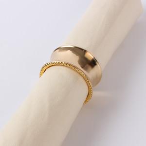 Alta qualità portatovagliolo tovagliolo d'argento Holder Oro per il banchetto di nozze Decorazione della tavola calda di vendita