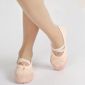 Crianças macio único ballet bombas toe shoes meninos girsl prática ballet shoes dancing shoes para bebê crianças juniors 3-16 t