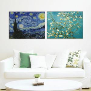 Famoso pintura al óleo sobre lienzo HD de Van Gogh Monet Impresión en la pared Decoración para el hogar Pintura abstracta moderna del arte