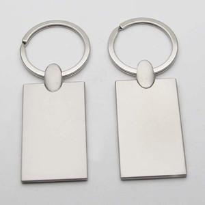 de fotografia personalizados chaveiros em branco do metal Rectangel chaveiros TRANSPORTE Imagem personalizada Chaveiros KM01C GOTA