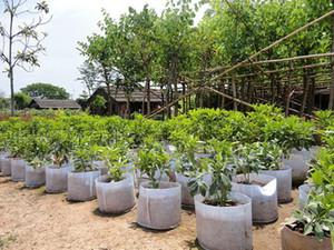 50x40cm Портативной Посадки цветочного горшка защита окружающей среда Многоразовый Soft-сторонняя Посадочные дышащий Grow Стимулирование роста Implant мешок SF
