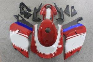 Fairing Kits RS 125 02 03 هيكل السيارة لـ Aprilia RS125 04 05 أحمر أبيض ABS Fairing RS125 01 00 2000 - 2005