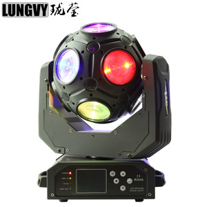 12x20w RGBW 4in1 LED 빔 라이트 21 DMX512 채널 풋볼 이동 헤드 라이트 전문 DJ / 바 / 파티 / 쇼 / 무대 조명