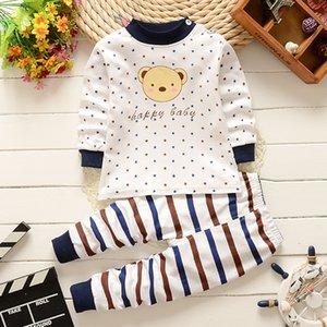 детские пижамы детская одежда наборы мультфильм хлопок костюмы мальчики девочки младенцы хлопок пижамы наборы