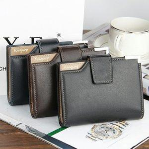 Fashion New Baellerry Brand Men Portafogli stile europeo e americano Design Short Business Hasp Porta carte di credito Portafoglio borsa