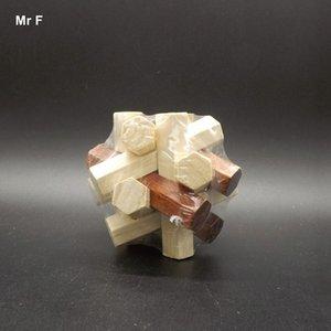 재미 있은 나무 장난감 게임 육각 기하학 블록 Montessori 조기 학습 교육 장난감 아기 아이 크리스마스 선물