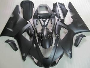Новый горячий мотоцикл обтекатель комплект для yamaha YZF R1 1998 1999 матовый черный обтекатели набор YZF R1 98 99 IY21