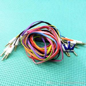 500pcs / серия Высокое качество 3,5 мм до 3,5 мм Красочная типа Вагон Aux аудио кабель Extended Audio Дополнительный кабель