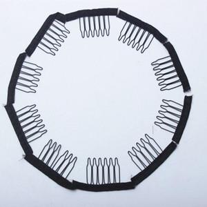 Tarak 30 adet Peruk Tarak Peruk Kap Ve Combs Için Peruk Yapma Saç Uzantıları Araçları Saç Uzatma Klipleri Peruk Kap için
