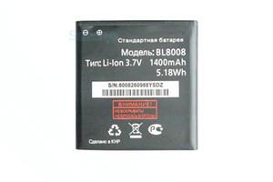 1x 1400mAh / 5.18Wh BL8008 FLY BL8008 BL 8008 W0F96 FS401 Stratus Için 3.Replacement Li-Ion Pil 1