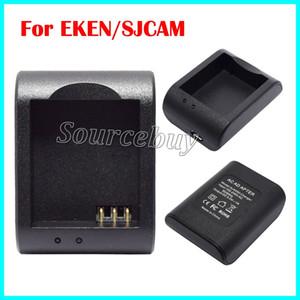 Новый дешевый один порт батареи AC DC зарядное устройство для GoPro шлем Спорт SJ4000 SJCAM EKEN стиль цифровой экшн-камеры настольный адаптер зарядки