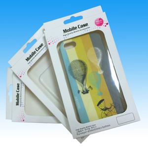 Caja de teléfono celular universal Caja de paquete de empaquetado para el iPhone 6 5 5S 5C 4 Galaxy S 5 4 i9500 S3 i9300 Note 3 2 Paquete de papel de la cubierta del caso