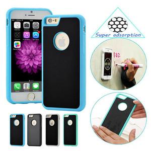Anti gravidade adsorção caixa protetora criativa magia pendurado capa para iphone x xr xs max 8 7 6 s plus samsung s8 s9 mais nota 8 9