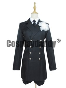 Black Butler Kuroshitsuji Ciel Phantomhive Black Funeral Cosplay Costume